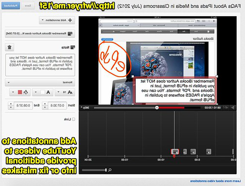 YouTube Video Annotati上s